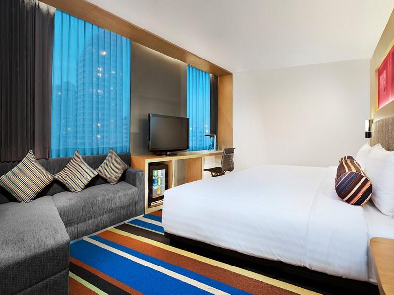 Urban room de l'hôtel Aloft à Bangkok