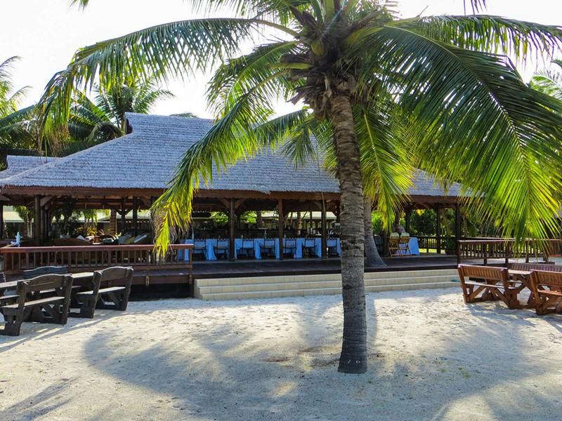 Le restaurant de l'hôtel Alphonse Island