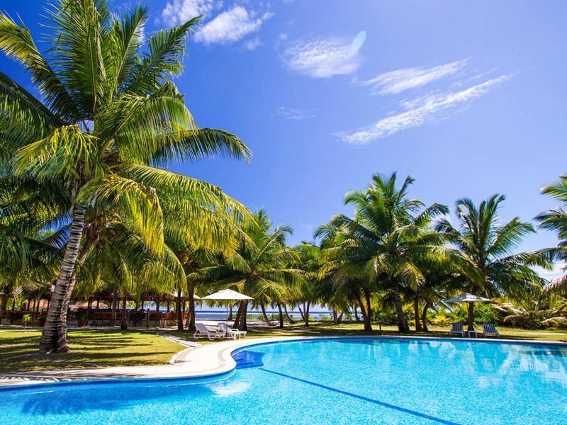 Autre vue de la piscine de l'Alphonse Island