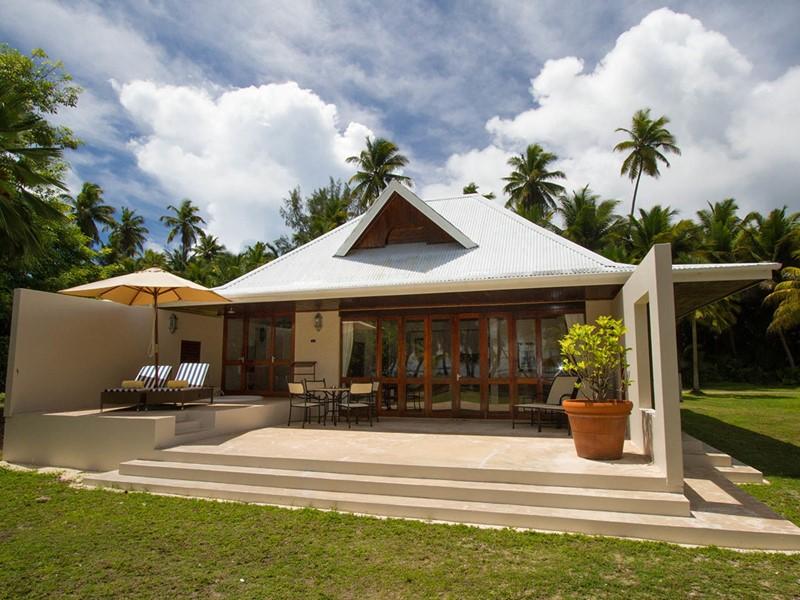 Vue exterieure de la Beach Suite de l'Alphonse Island