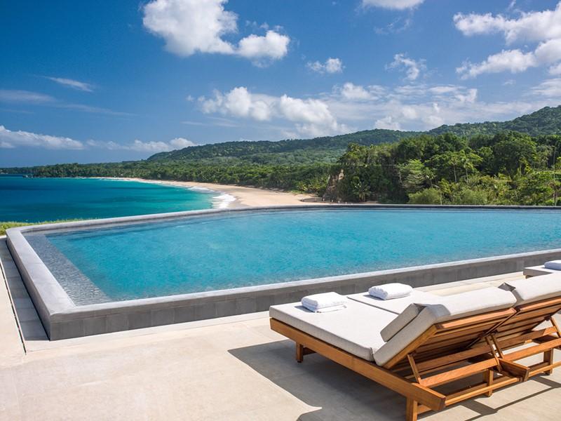 La piscine de l'hôtel Amanera en République Dominicaine
