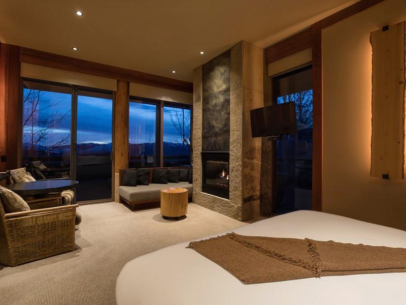 Deluxe Suite de l'hôtel Amangani aux Etats Unis