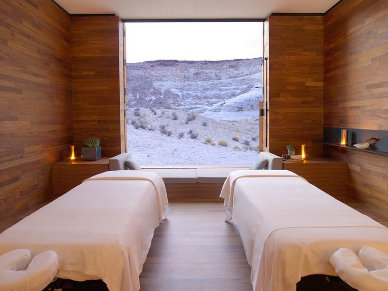 Profitez d'un massage relaxant avec une vue époustouflante