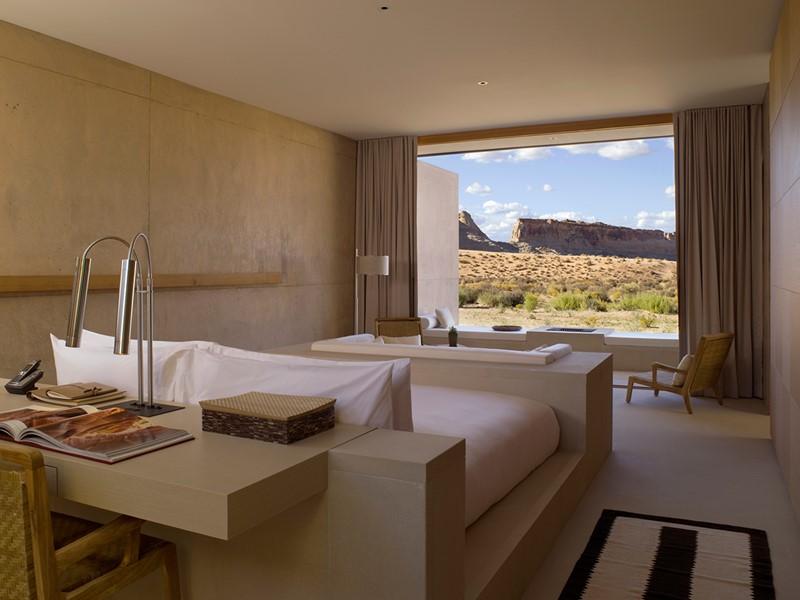 La Desert View Suite donnant sur le désert rocheux de l'Utah