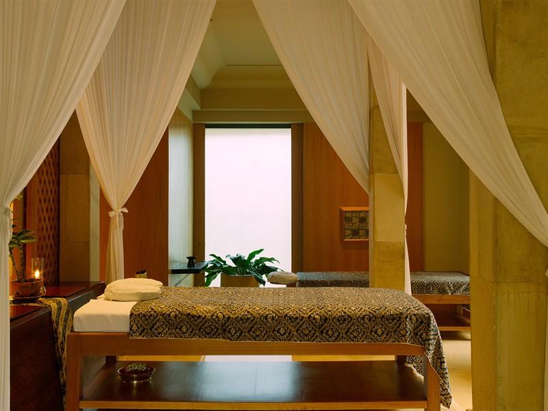 Le spa de l'hôtel 5 étoiles Amanjiwo, à Java