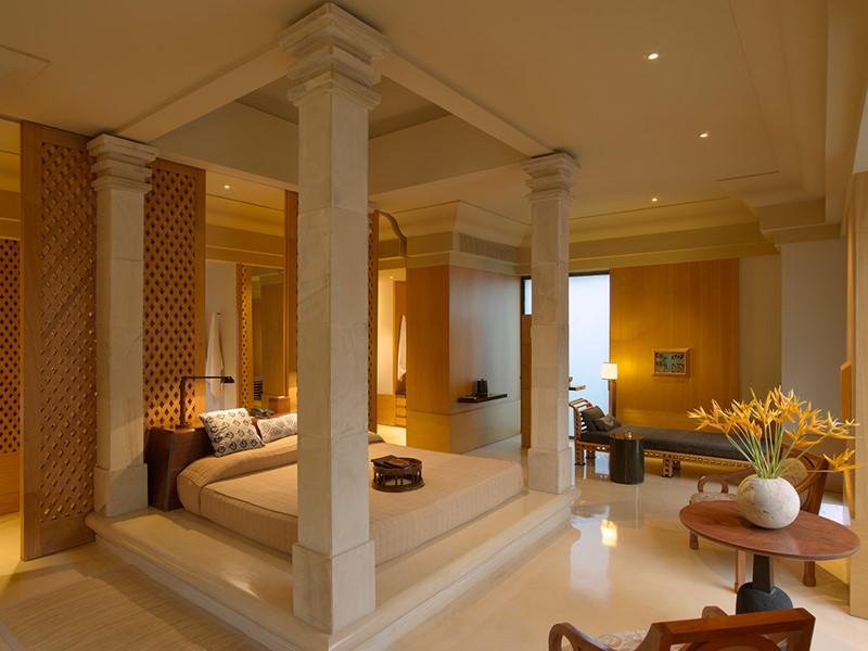 Borobudur Suite de l'hôtel Amanjiwo, à Java