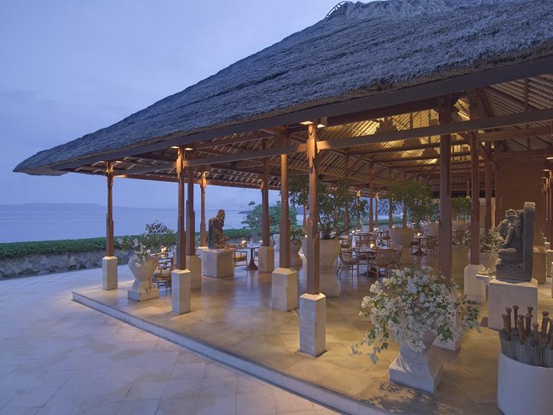Restaurant Kila de l'hôtel de luxe Amankila
