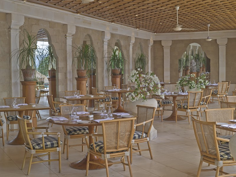 Restaurant The Terrace de l'hôtel Amankila