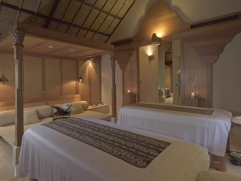 Le spa de l'hôtel 5 étoiles Amankila à Bali