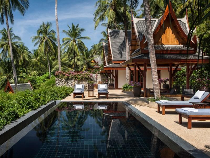 Partial Ocean Pool Pavilion de l'Amanpuri à Phuket