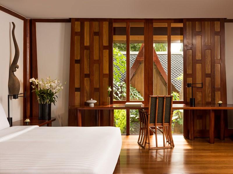 Le Pavilion de l'hôtel Amanpuri situé à Phuket
