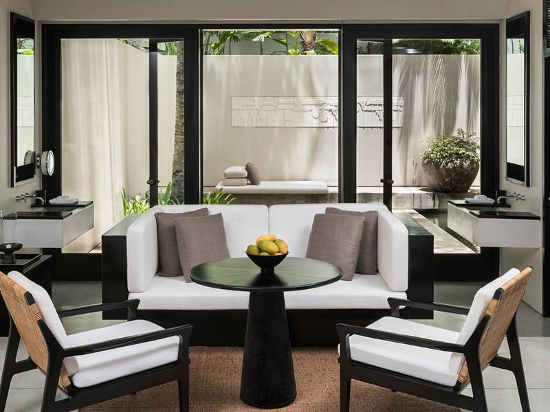 Courtyard Suite de l'hôtel Amansara au Cambodge