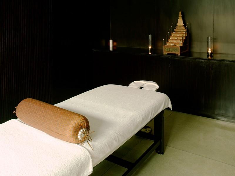 Le spa de l'hôtel 5 étoiles Amansara à Siem Reap