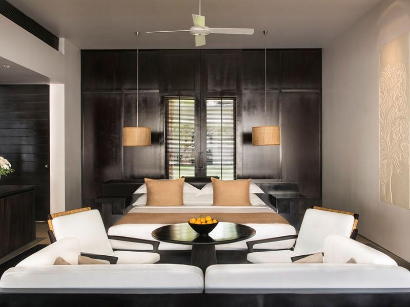 La Suite de l'hôtel Amansara au Cambodge