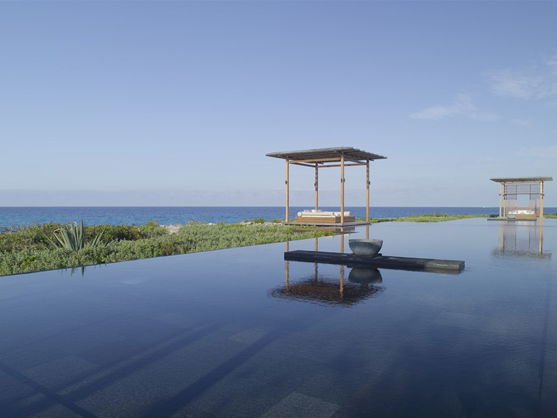 La piscine de l'Amanyara