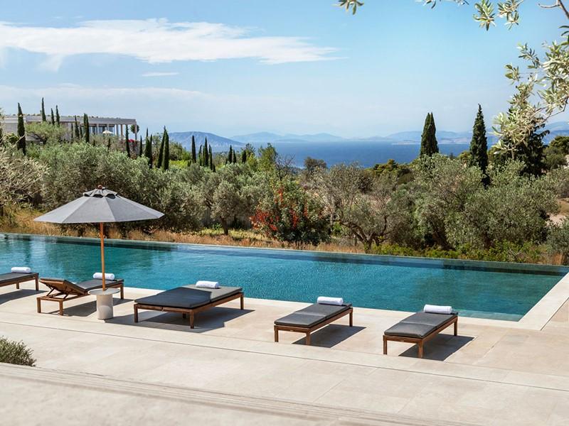 La 4 Bedroom Villa de l'hôtel Amanzoé en Grèce