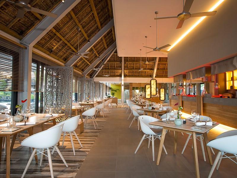 Le restaurant gastronomique Origine de l'hôtel Anahita