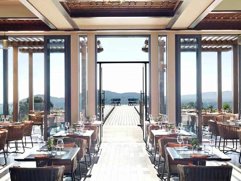 Saveurs italiennes au restaurant Bella Vista de l'hôtel Anantara