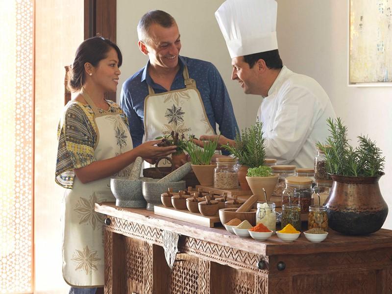 Cours de cuisine à l'hôtel Anantara Al Jabal Al Akhdar