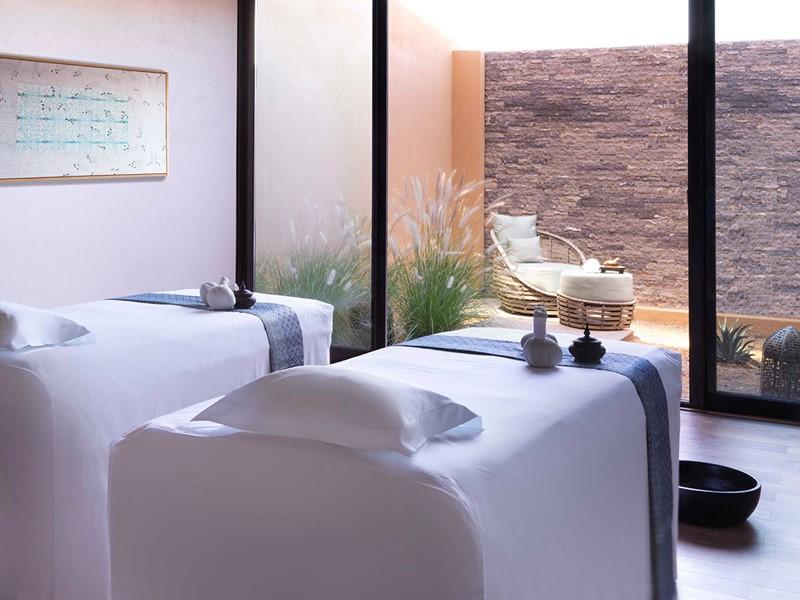 Le spa de l'hôtel 5 étoiles Anantara Al Jabal Al Akhdar