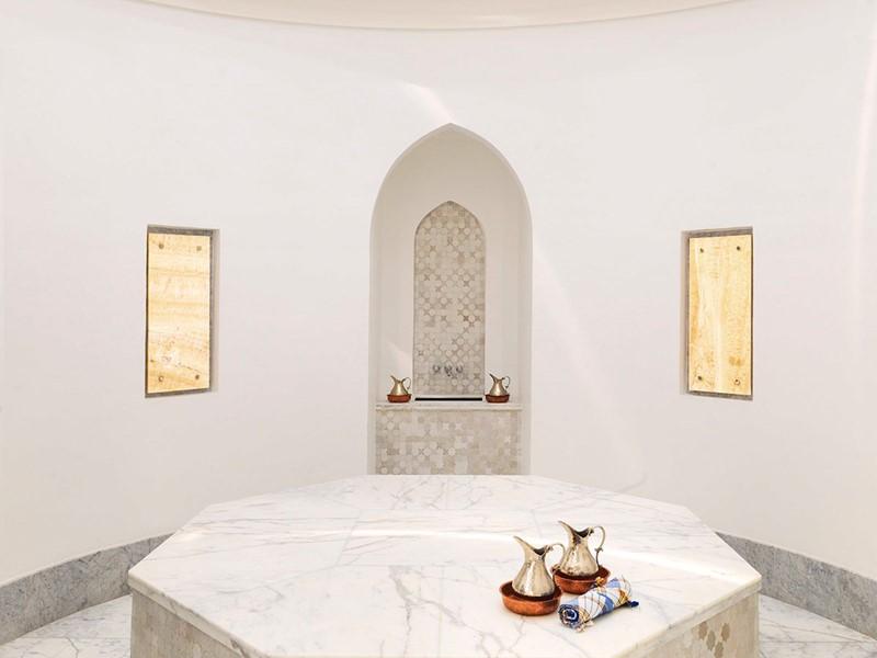 Le hammam de l'Anantara Al Jabal Al Akhdar Resort