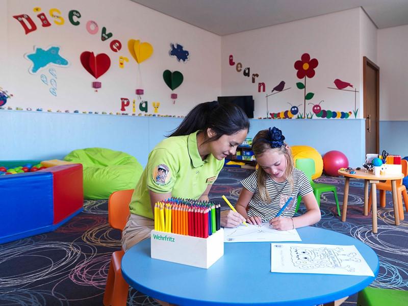 Asfour Kids Club de l'Anantara Al Jabal Al Akhdar