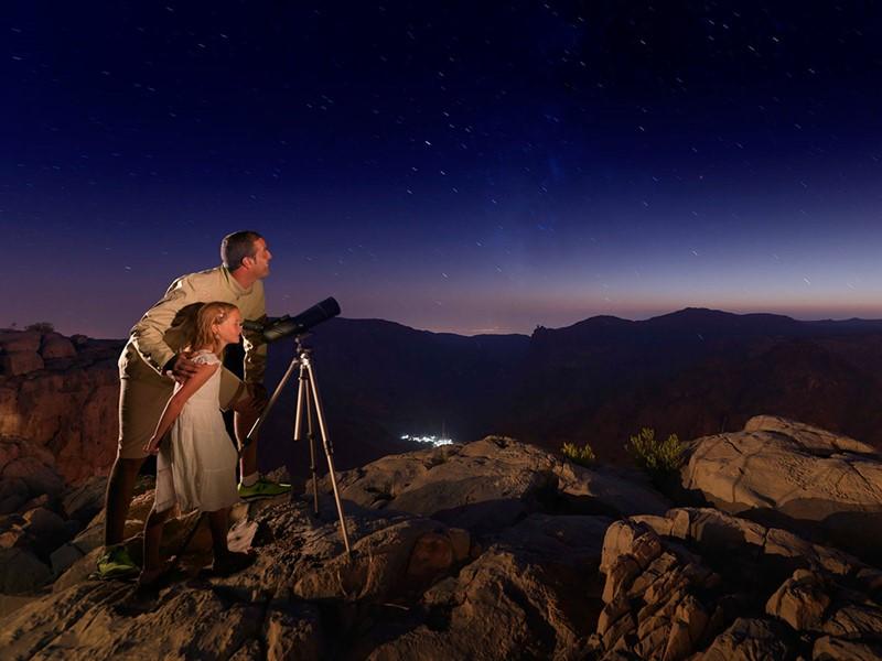 Contemplez les étoiles à l'Anantara Al Jabal Al Akhdar