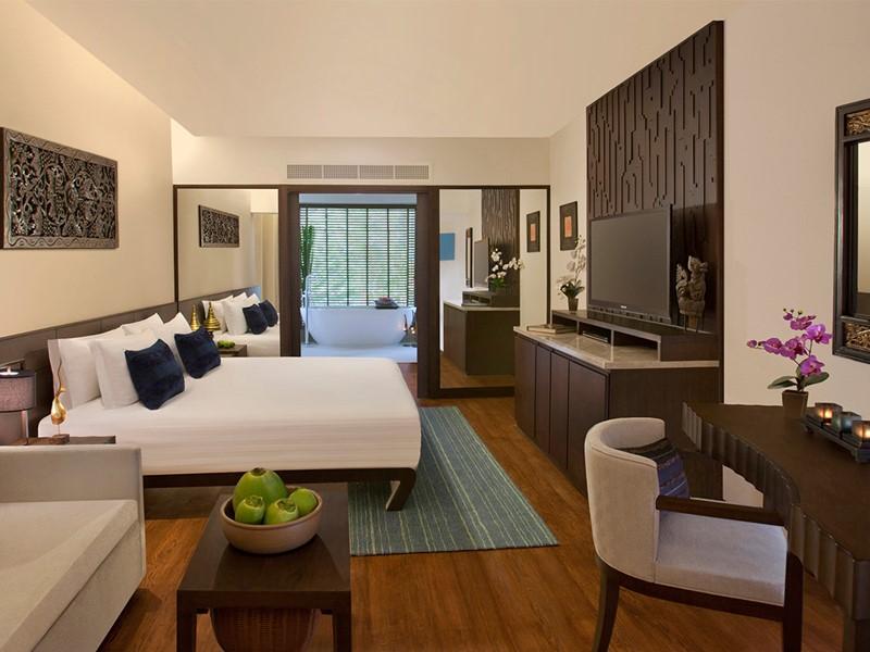 Junior Garden View Suite de l'Anantara Bophut Resort à Koh Samui