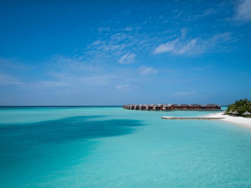 Le lagon turquoise