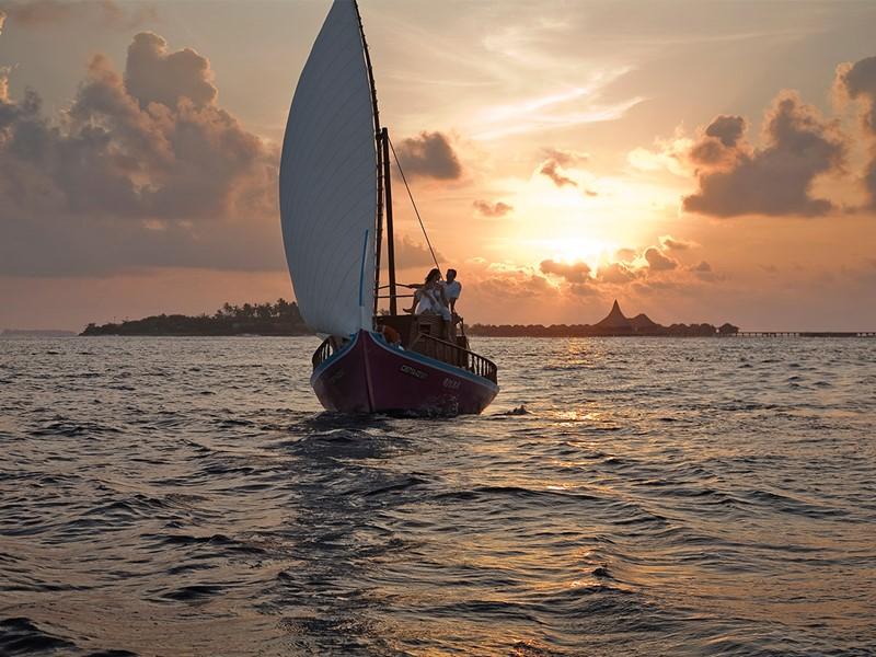 Croisière en Dhoni au coucher du soleil