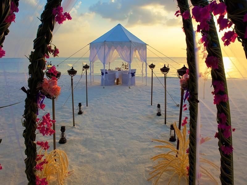 Mariage à l'Anantara Dhigu