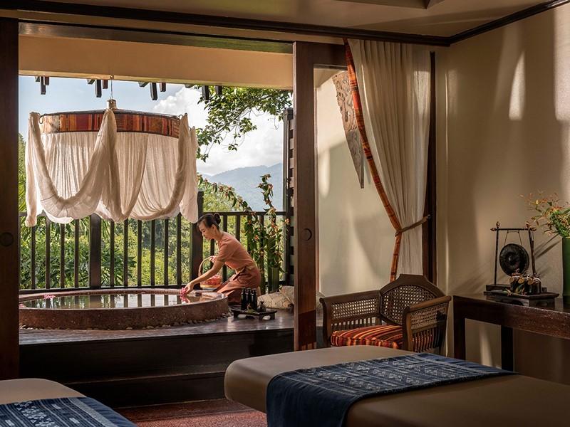Le spa de l'hôtel 5 étoiles Anantara Golden Triangle