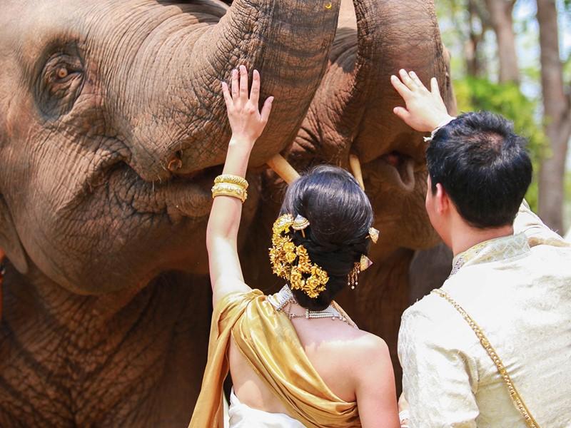 Mariage à l'Anantara Golden Triangle situé en Thailande