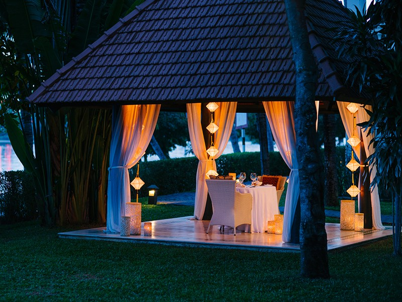 Dîner romantique à l'Anantara Hoi An au Vietnam