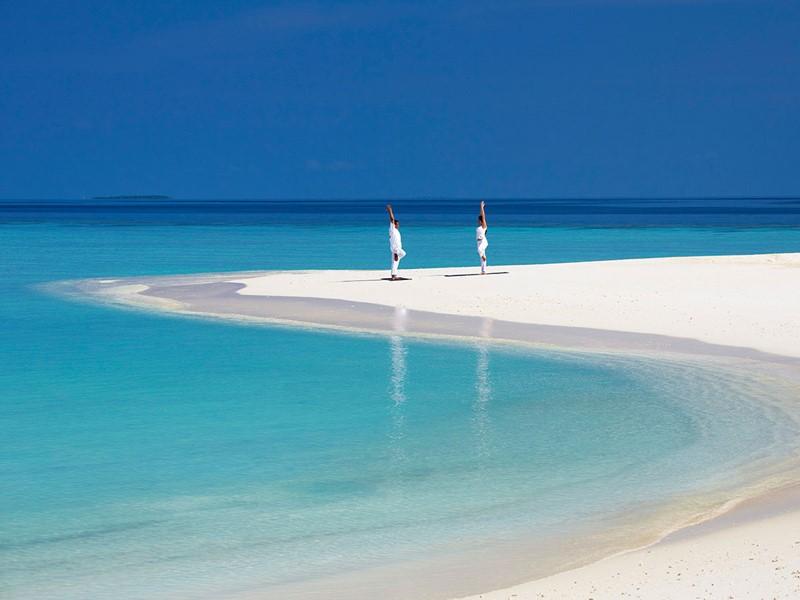Remise en forme sur la plage