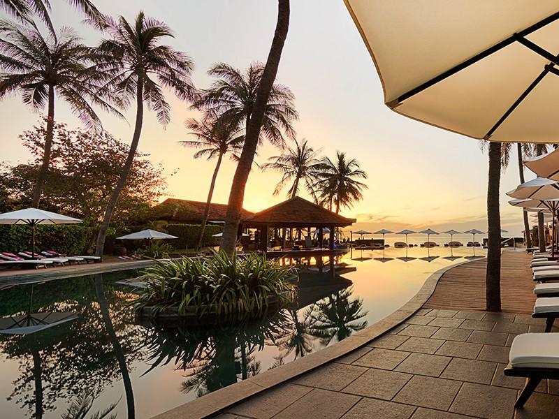 Contemplez un magnifique coucher de soleil depuis l'Anantara