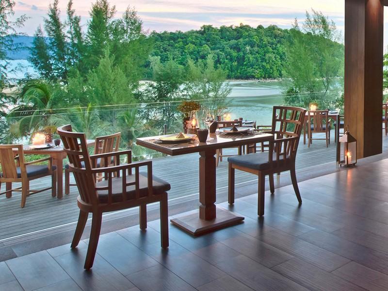 Restaurant Dee Plee de l'hôtel Anantara Resort situé à Phuket