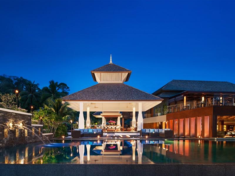 Le lobby de l'Anantara Resort & Spa à Phuket