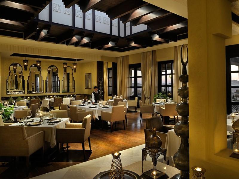 Restaurant Suhail de l'hôtel Anantara à Abu Dhabi