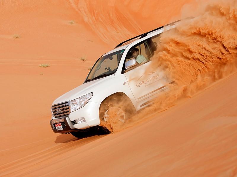 Escapade dans le désert depuis l'hôtel Anantara
