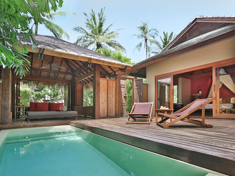 Lagoon Pool Suite