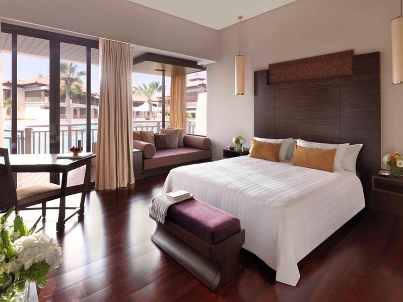 Chambre Deluxe Lagoon Access de l'Anantara Dubai