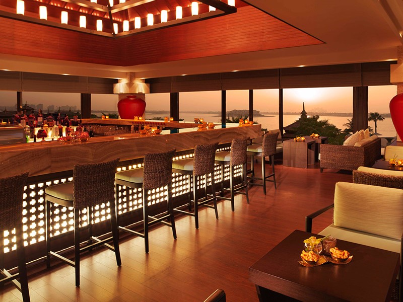 Lotus Lounge de l'hôtel Anantara situé à Dubai