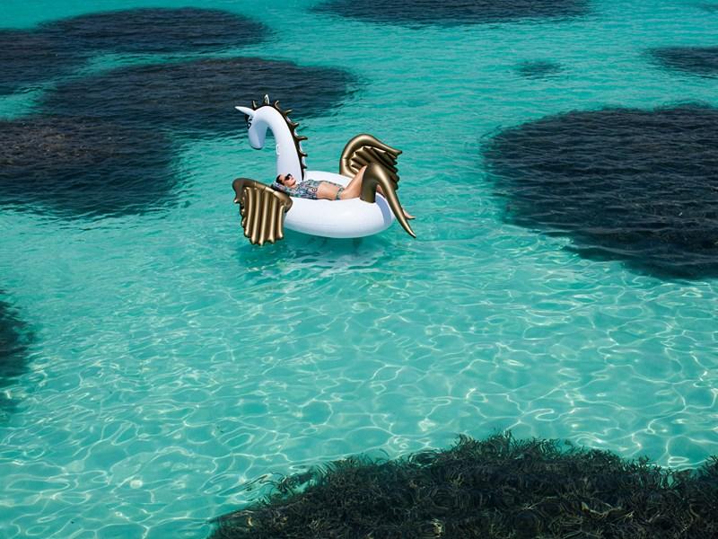 Profitez du lagon turquoise
