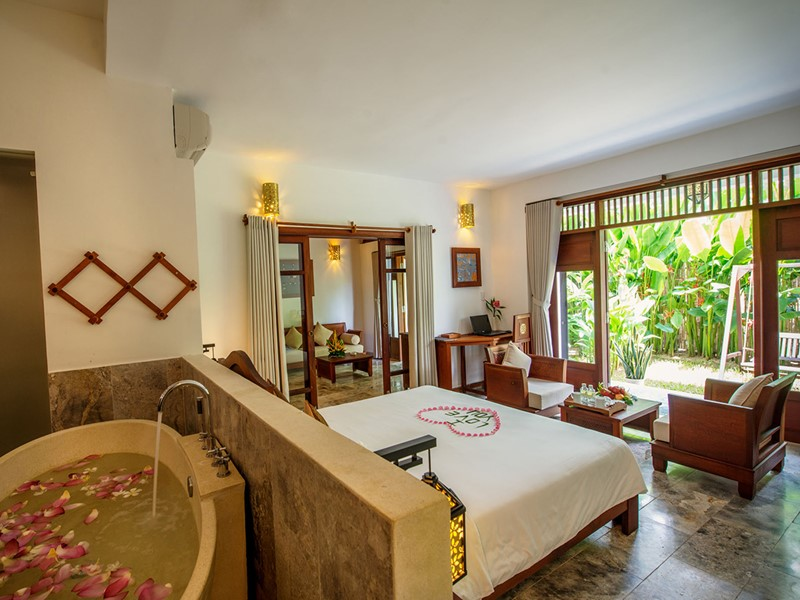 Garden View Suite de l'Hoi An Ancient House Village