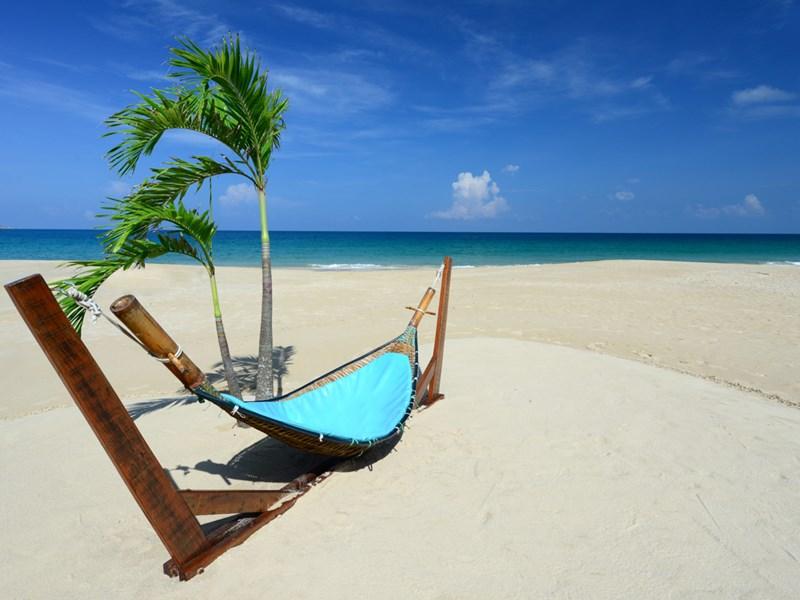 La plage de l'Andaman White Beach Resort