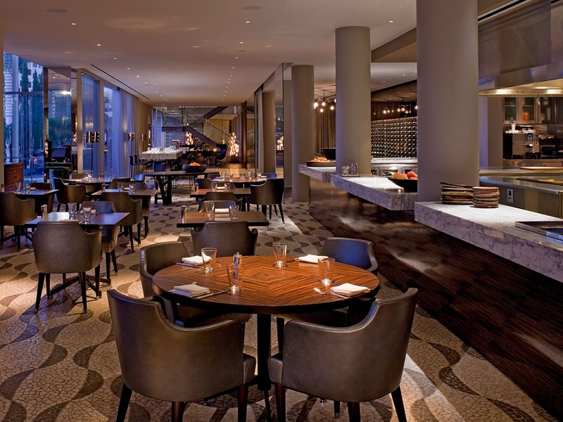 Le restaurant Riot House de l'hôtel Andaz West Hollywood
