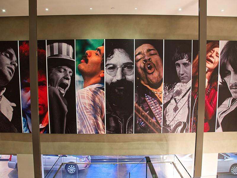 L'hôtel Andaz West Hollywood fut autrefois le repère de groupes de rock.