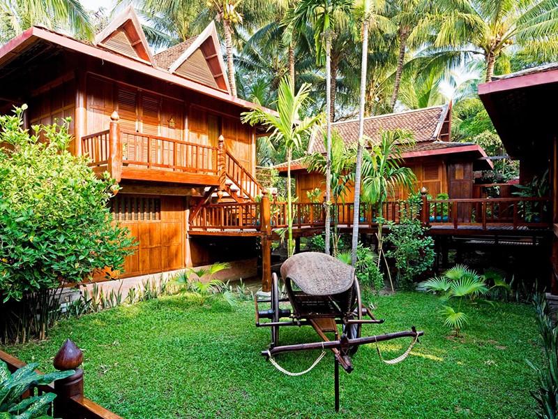 Vue de l'hôtel Angkor Village situé à Siem Reap