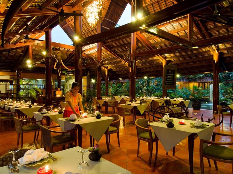 Le restaurant L'auberge Des Temples de l'Angkor Village
